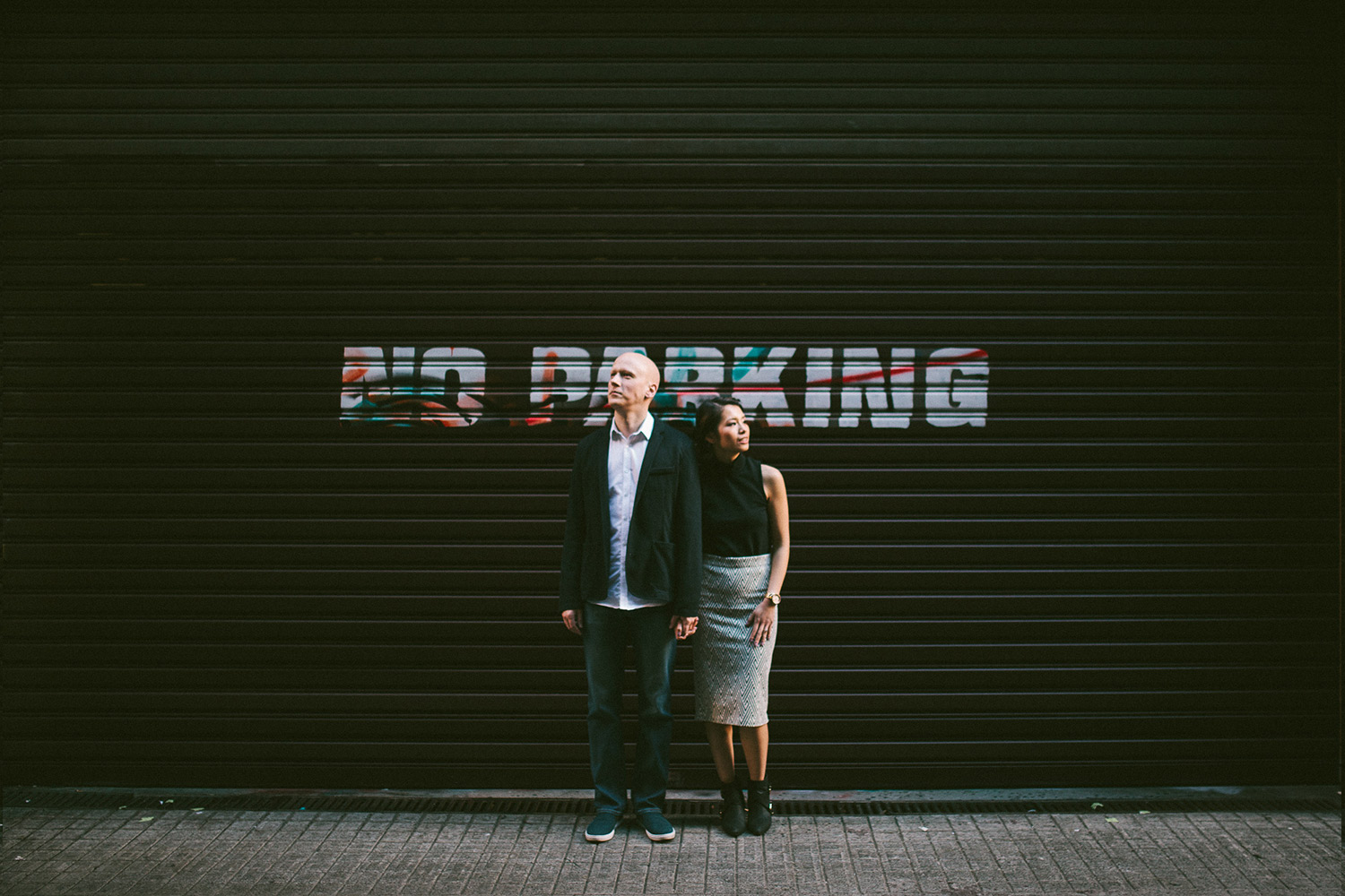 Elaine-Stephen-Engagement-Melbourne-Quirky-Urban-Engagement-Session-Wedding-Photography-12