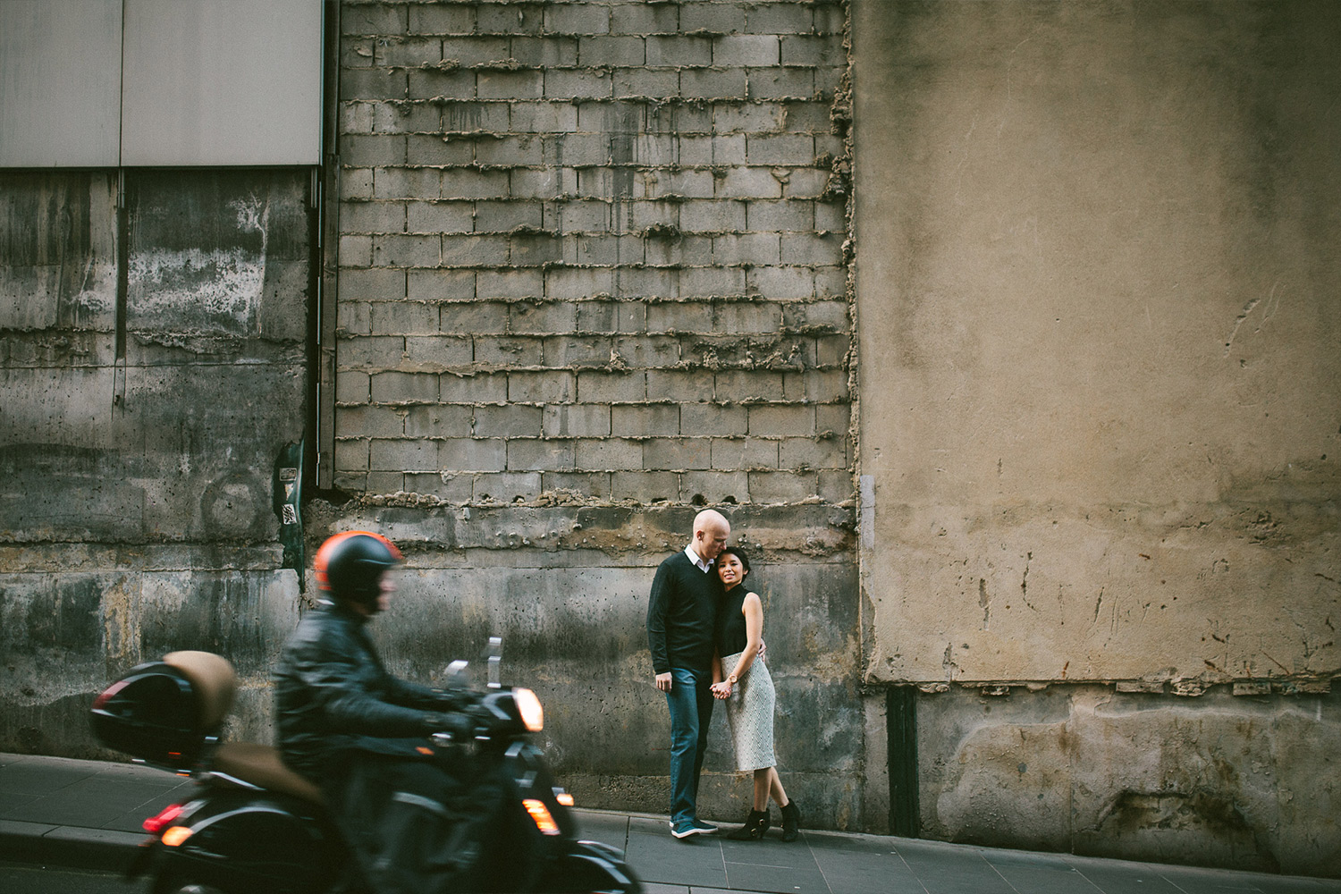 Elaine-Stephen-Engagement-Melbourne-Quirky-Urban-Engagement-Session-Wedding-Photography-15