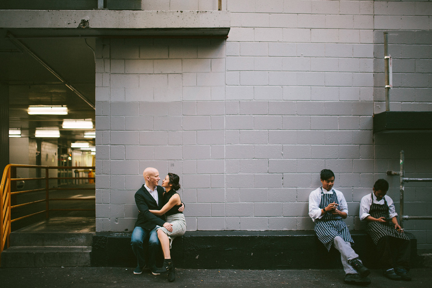 Elaine-Stephen-Engagement-Melbourne-Quirky-Urban-Engagement-Session-Wedding-Photography-9