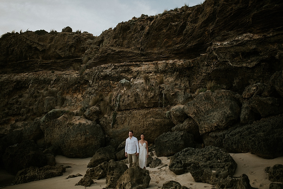 Zoe&Marc_Mornington-Peninsula-Candid-Romantic-Back-Beach-Engagement-Session_Melbourne-Quirky-Wedding-Photography_29